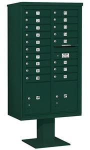 Salsbury 4C Pedestal 3415D-18 Green