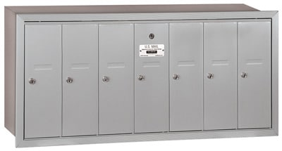 Salsbury 7 Door Vertical Mailbox 3507