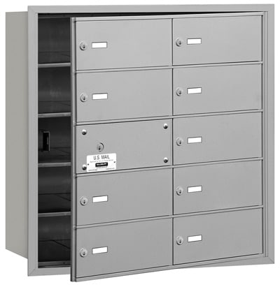 10 Door Front Loading 3610 Salsbury 4B+ Horizontal Mailboxes Product Image