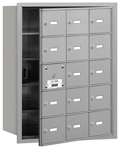 15 Door Front Loading 3615 Salsbury 4B+ Horizontal Mailboxes Product Image