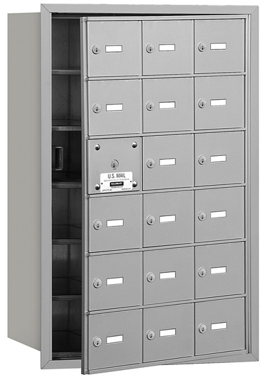 18 Door Front Loading 3618 Salsbury 4B+ Horizontal Mailboxes Product Image