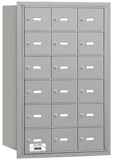 3618 Rear Loading Salsbury Horizontal Mailboxes