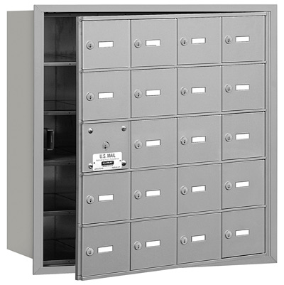 20 Door Front Loading 3620 Salsbury 4B+ Horizontal Mailboxes Product Image