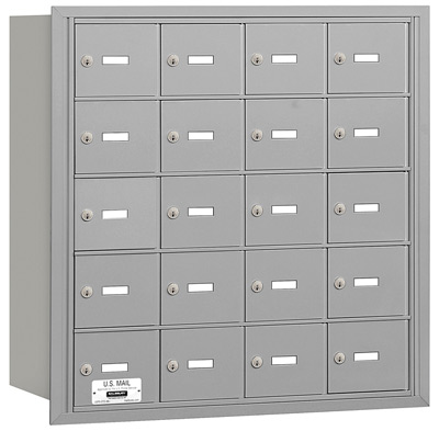 20 Door Rear Loading 3620 Salsbury 4B+ Horizontal Mailboxes Product Image
