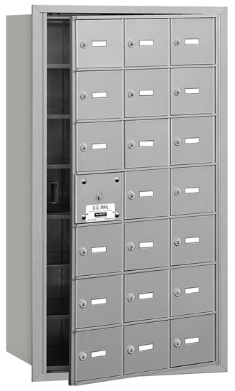 21 Door Front Loading 3621 Salsbury 4B+ Horizontal Mailboxes Product Image
