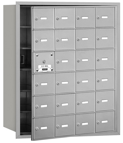 24 Door Front Loading 3624 Salsbury 4B+ Horizontal Mailboxes Product Image