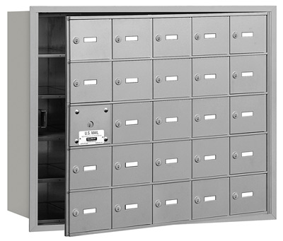 25 Door Front Loading 3625 Salsbury 4B+ Horizontal Mailboxes Product Image