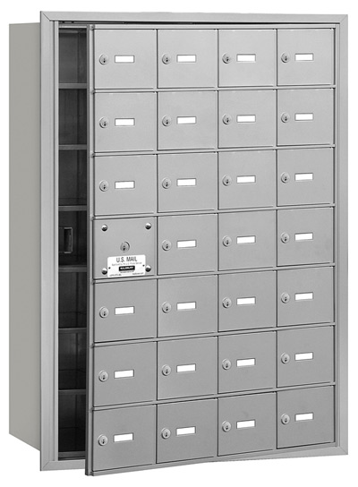 28 Door Front Loading 3628 Salsbury 4B+ Horizontal Mailboxes Product Image