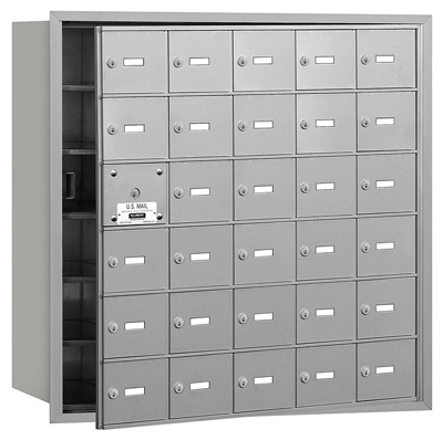 30 Door Front Loading 3630 Salsbury 4B+ Horizontal Mailboxes Product Image