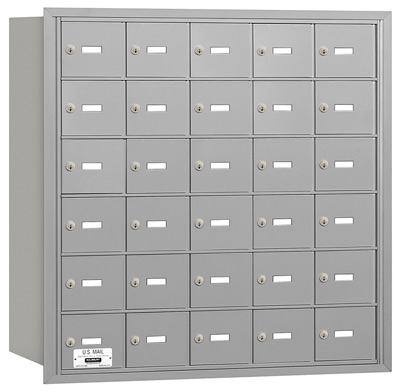 30 Door Rear Loading 3630 Salsbury 4B+ Horizontal Mailboxes Product Image