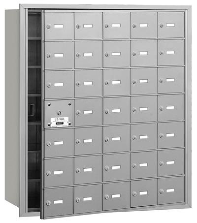 35 Door Front Loading 3635 Salsbury 4B+ Horizontal Mailboxes Product Image