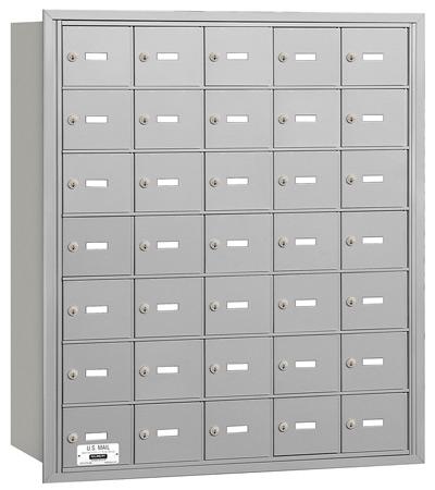 3635 Rear Loading Salsbury Horizontal Mailboxes