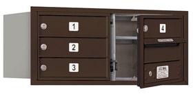 Salsbury 4C Mailboxes 3703D-04 Bronze