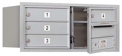 3703D04 Front Loading Commercial 4C Mailboxes