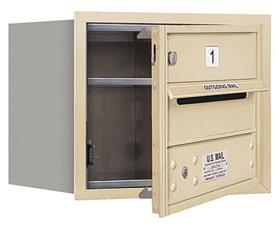 Salsbury 4C Mailboxes 3703S-01 Sandstone
