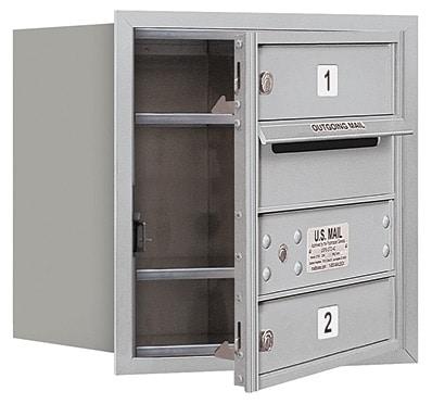 3704S-02 Front Loading Salsbury 4C Horizontal Mailboxes Product Image