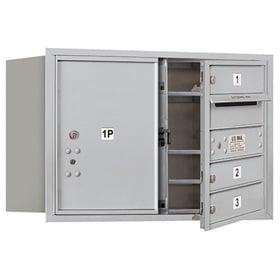 Salsbury 4C Mailboxes 3705D-03 Aluminum
