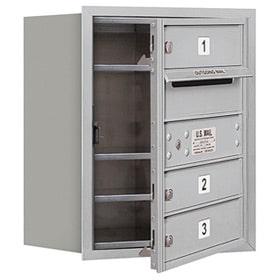 Salsbury 4C Mailboxes 3705S-03 Aluminum