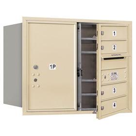 Salsbury 4C Mailboxes 3706D-04 Sandstone