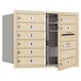 Salsbury 4C Mailboxes 3706D-09 Sandstone