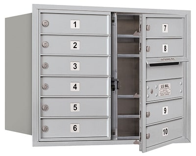 3706D10 Front Loading Commercial 4C Mailboxes