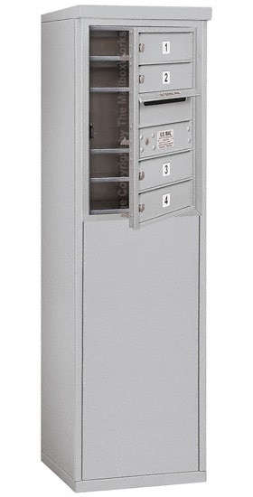 3706S04 Free Standing Commercial 4C Mailboxes