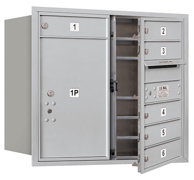 3707D06 Front Loading Commercial 4C Mailboxes