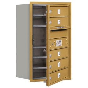 Salsbury 4C Mailboxes 3707S-05 Gold