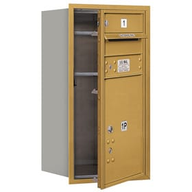 Salsbury 4C Mailboxes 3708S-01 Gold