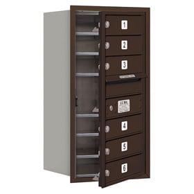 Salsbury 4C Mailboxes 3708S-06 Bronze