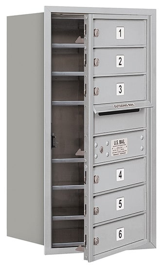 3708S06 Front Loading Commercial 4C Mailboxes