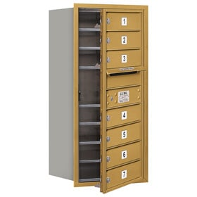Salsbury 4C Mailboxes 3709S-07 Gold