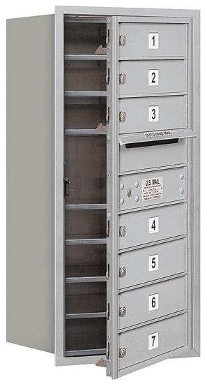 3709S-07 Front Loading Salsbury 4C Horizontal Mailboxes Product Image