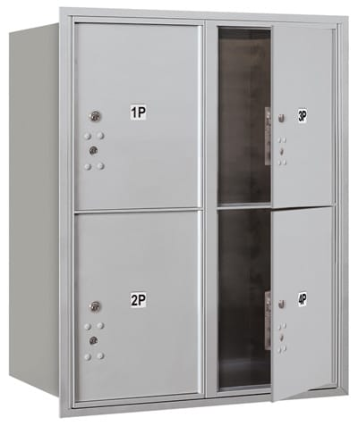 3710D4P Front Loading Commercial 4C Mailboxes