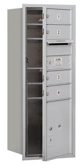 3710SA-04 Front Loading Salsbury 4C Horizontal Mailboxes Product Image