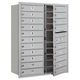 Salsbury 4C Mailboxes 3711D-20 Aluminum