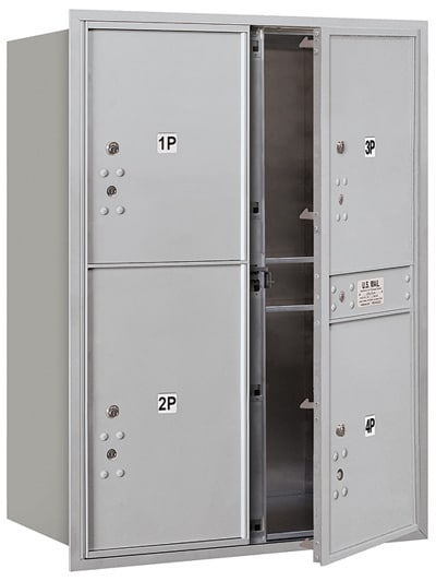 3711D4P Front Loading Commercial 4C Mailboxes