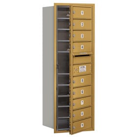 Salsbury 4C Mailboxes 3711S-09 Gold