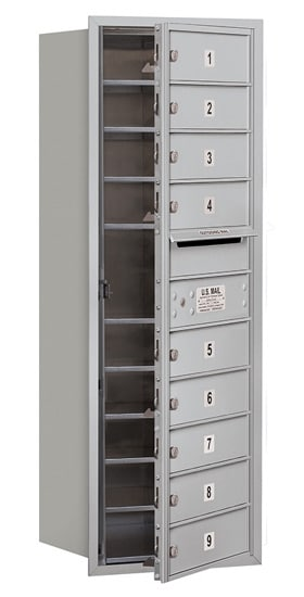 3711S09 Front Loading Commercial 4C Mailboxes