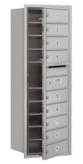 3711S-09 Front Loading Salsbury 4C Horizontal Mailboxes Product Image