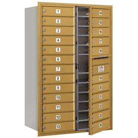 Salsbury 4C Mailboxes 3713D-24 Gold