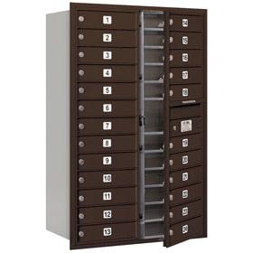 Salsbury 4C Mailboxes 3713D-24 Bronze