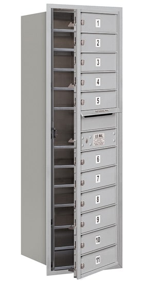 3713S11 Front Loading Commercial 4C Mailboxes