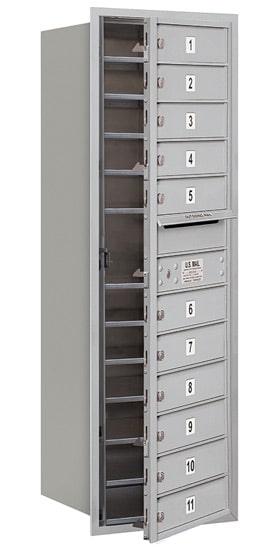 3713S-11 Front Loading Salsbury 4C Horizontal Mailboxes Product Image