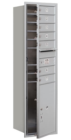 3715S-07 Front Loading Salsbury 4C Horizontal Mailboxes Product Image