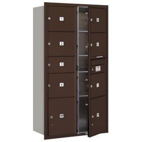 Salsbury 4C Mailboxes 3716D-07 Bronze