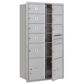 Salsbury 4C Mailboxes 3716D-09 Aluminum