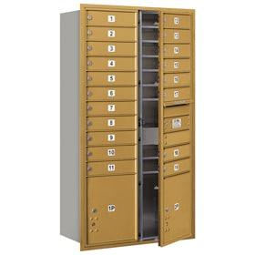 Salsbury 4C Mailboxes 3716D-19 Gold