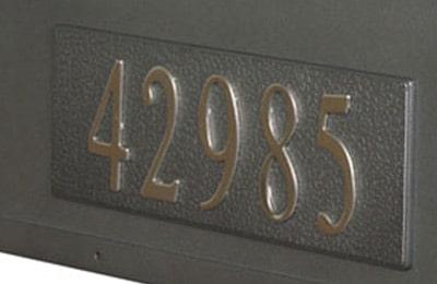 Special Lite Berkshire Mailbox Side Address