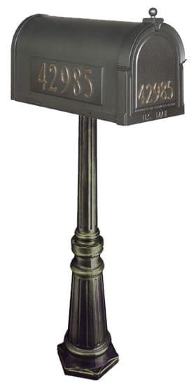 Special Lite Berkshire Mailbox with Tacoma Post Product Image